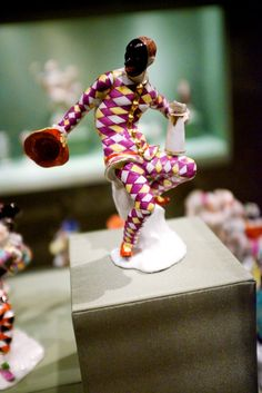 Another Meissen Harlequin figurine at the Metropolitan Museum, NYC