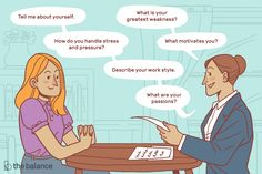 The most frequently job interview questions that employers ask, examples of the best answers for each question, and tips for how to prepare and respond.
