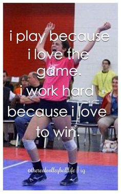 My life I love the game! And I LOVE WINNING