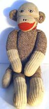 Supersockmonkey.com - Sock Monkey History by Mitch Mitchell in Siler City, NC