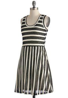 Table for Two Tone Dress | Mod Retro Vintage Dresses | ModCloth.com $44.99