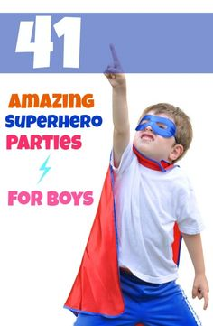 Super hero party ideas! We have bounce houses for these too ;)  www.monkeygiggles.com