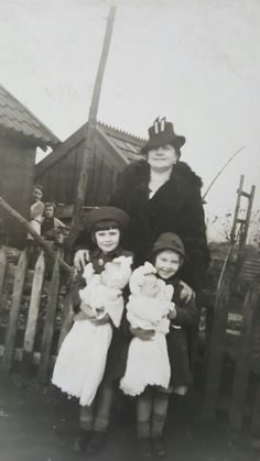 Nan Pamela with her sister Doreen and their grandmother Ethel Johnson nee Wood