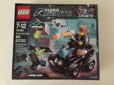 Lego Ultra Agents Riverside Raid Set 70160 88 Pcs Ages 7-12 Agent VS Adam Acid #LEGO