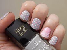 Polka Dots Nail Polka Dot Nails, Polka Dots, High Gloss, Nail Polish, Beauty, Nail Polishes, Polish, Polka Dot, Beauty Illustration