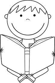 Book clipart black and white