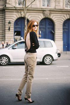 Vanessa Jackman: Paris Fashion Week AW 2012...Stephanie