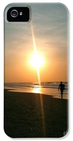 Sunrise Surfer iPhone 5 Case / iPhone 5 Cover for Sale