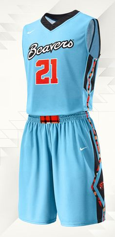 2013 Oregon State Native American Heritage Month Torquoise Nike N7 Uniform
