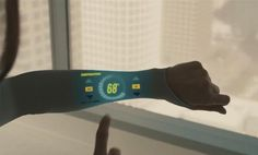 This is so cool- concept interactive garment from Under Armour