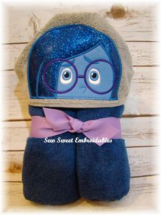 Hey, I found this really awesome Etsy listing at https://www.etsy.com/listing/236844649/sadness-inspired-by-inside-out-hooded