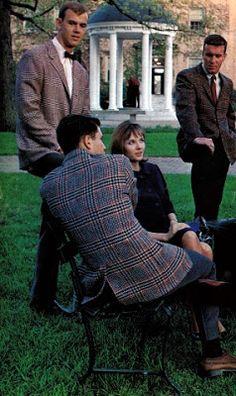The Ivy League Look: UNC Chapel Hill, 1964