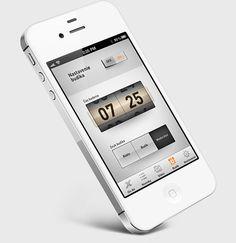 Radio Expres iOS app by Martin Schurdak, via Behance #Mobile #App #Design #iPhone #iOs