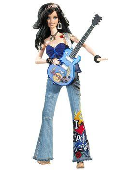 Barbie Hard Rock Cafe 3 2005 Gold Label Mit Tatoo Wie Tokidoki Friend   eBay