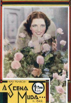 KAY FRANCIS - (A SCENA MUDA, February 21, 1933, Rio de Janeiro, Brazil)