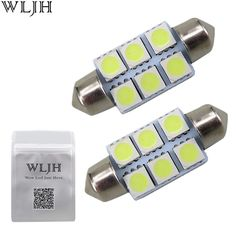 10X White High Power 3W LED Lights Show Wide Light T10 5630 6SMD Bulb Lamp oo