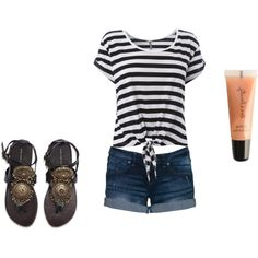 """Summer Set"" by leahlouise17 on Polyvore"