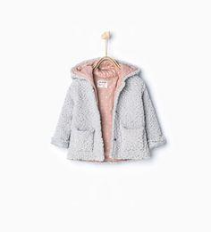 Imagem 1 de Casaco malha capuz da Zara
