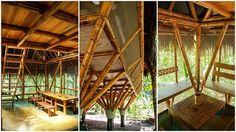 Albergue ecológico em Bambu