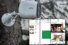 Looking to upgrade your home security system or camera? The Arlo Pro by NETGEAR Security System with Siren and also with 2 Rechargeable Wire-Free HD Cameras that have audio a perfect for outdoor and indoor use at home. It's smart to keep watch over your home when your'e home and away...These Arlo HD cameras have night