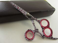"Professional Salon Hair Cutting Scissors Barber Shears Swirl Hairdressing 5.5"" Price:US $32.99"