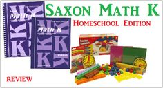 Kindergarten Saxon Math Review - by Amy www.thecurriculumchoice.com