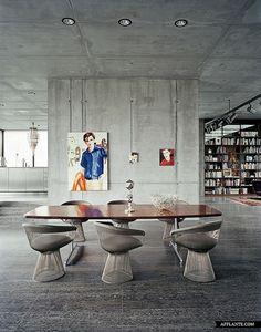 Concrete, Industrial, air raid bunker in berlin, realarchitektur