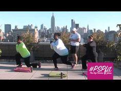 ▶ Plus Size Princess Fitness Cardio Blast (Two) Lane Bryant Active & #PSPfit! - YouTube