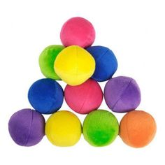 This Bag-of-Balls contains twelve colorful plush squeaky dog toys.  Perfect for the ball obsessed dog! #yourdogwilldigit