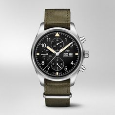 IW377724-Pilot's Watch Chronograph #men #watches #watch #accessory #strap