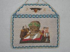 "antique ""Freemason"" beaded envelope Purse, masonic symbols, tiny beads, fantastic detail, excellent condition, very rare"