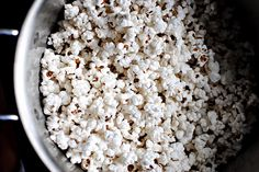 Stove-Popped Coconut Popcorn!  I LOVE IT!!!!