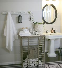 Click Pic for 18 DIY Bathroom Storage Ideas - Old Chicken Crate - Bathroom Organization Ideas