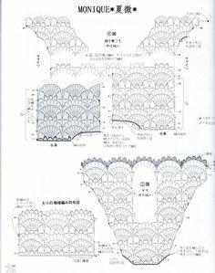 fan crochet mod dress 4