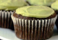 Cupcakes de Chocolate y Aguacate.