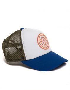 DEUS Trucker cap Peace - olive blue Deus Ex Machina, Mesh Cap, Snapback Cap, Dad Hats, Baseball Cap, Cape, Collection, Ideas, Cabo