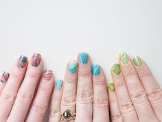 another marbled nail tutorial