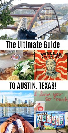 The perfect guide to Austin, Texas! The best places to eat, things to do, and what to see while visiting Austin! #austintexas