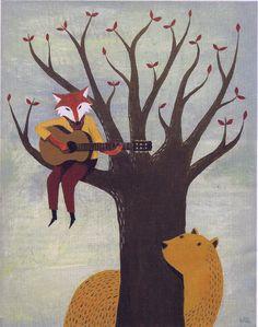 Acoustic Fox | Warwick Kay
