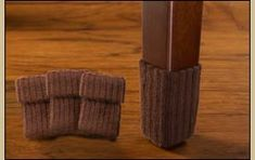 Protect Your Floors with Nancy Protectz Furniture Socks. The patent-pending NancyProtectz™ furniture sock floor protectors make protecting your hardwood, bamboo, laminate and tile floors quick and easy. Brown Furniture, Furniture Legs, Cool Furniture, Furniture Floor Protectors, Floor Protectors For Chairs, Toddler High Chair, Lazy Boy Chair, Chair Socks, Dining Room Office