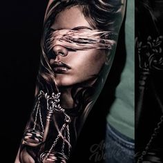 Search inspiration for a Realistic tattoo. Libra Sign Tattoos, New Tattoos, Tattoos For Guys, Tattoos For Women, Cool Tattoos, Deutschland Tattoo, Picture Tattoos, Tattoo Photos, Tattoo Deus