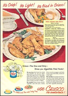 CRISCO VEGETABLE SHORTENING WOMAN'S DAY 12/01/1948 p. 25