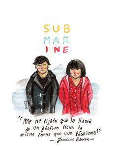 Submarine (2010) #Film Submarine 2010, Submarine Movie, Depressing, Submarines, Arctic Monkeys, Films, Movies, Tv Series, Lyrics