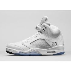 timeless design 10b4a dbf02 Buy 2015 Releases Air Jordan 5 Retro White Metallic Basketball Shoes AJ  Mens Sneakers White Metallic Silver Black For Sale from Reliable 2015  Releases Air ...