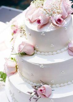 Hochzeitstorte mit Zuckerperlen - Trends