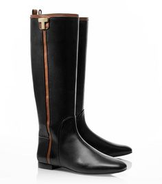 Erica Flat Riding Boot | Womens Boots | ToryBurch.co.uk - Luuuuurve it