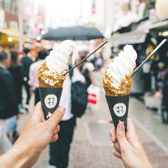 The Complete Tokyo Travel Guide   City Guides   Japan Travel Itinerary   Harujuku Takeshita Street   Ice Cream Food in Tokyo   Neighborhood Travel Tips