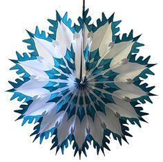 Teal Green Tip Dip Dyed 19 Inch Tissue Paper Snowflakes (... https://www.amazon.com/dp/B01MFFNZWA/ref=cm_sw_r_pi_dp_x_kzugybBR5G1YW