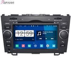 Free Shipping 7'' Quad Core S160 Android 4.4 Car DVD GPS For CRV With Stereo Radio Audio Mirror Link Wifi BT Support 3G DVR