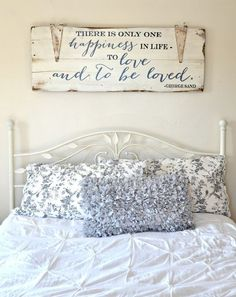 """To love and to be loved"" Wood Sign {customizable} - Aimee Weaver Designs"